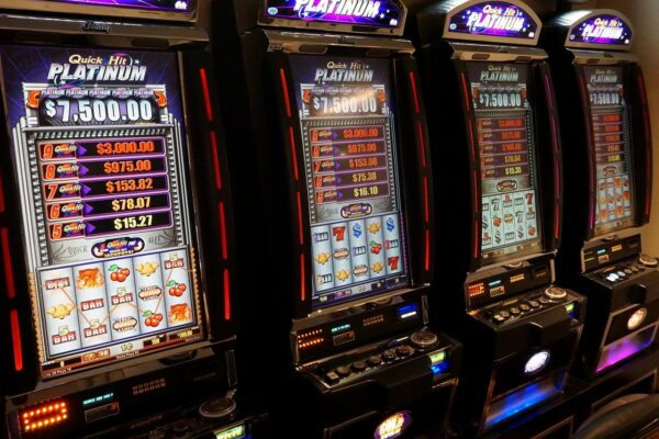 The appearance of online slot machines